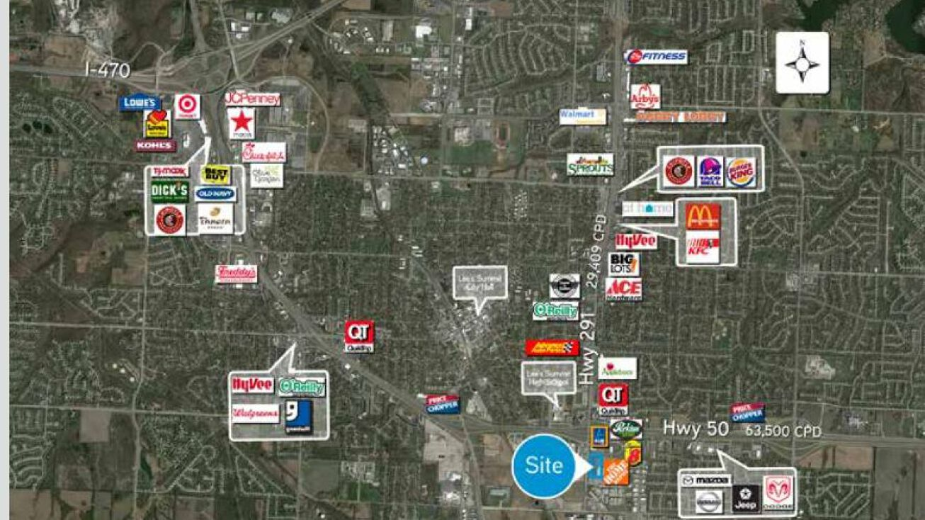 651 Se Oldham Parkway Lee S Summit Mo 64081 Retail Property For Sale Home Depot Outparcel Lots