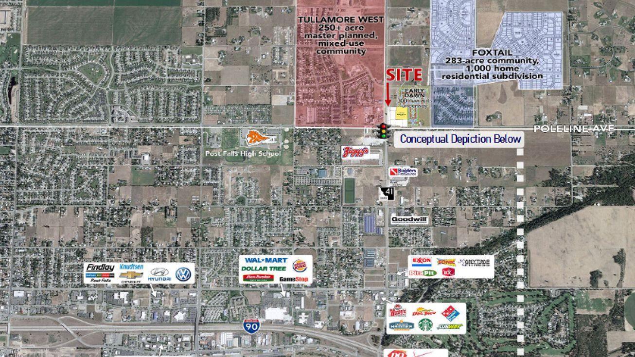 4055 E Poleline Ave Post Falls Id 83854 Development Site Property For Sale 4055 E Poleline Ave