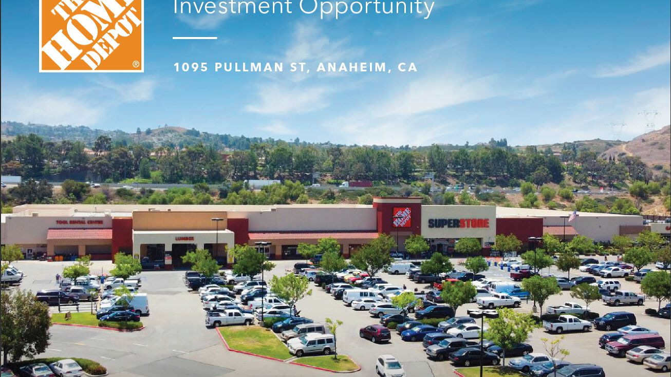 1095 Pullman St Anaheim Ca 92807 Retail Property For Sale Home Depot