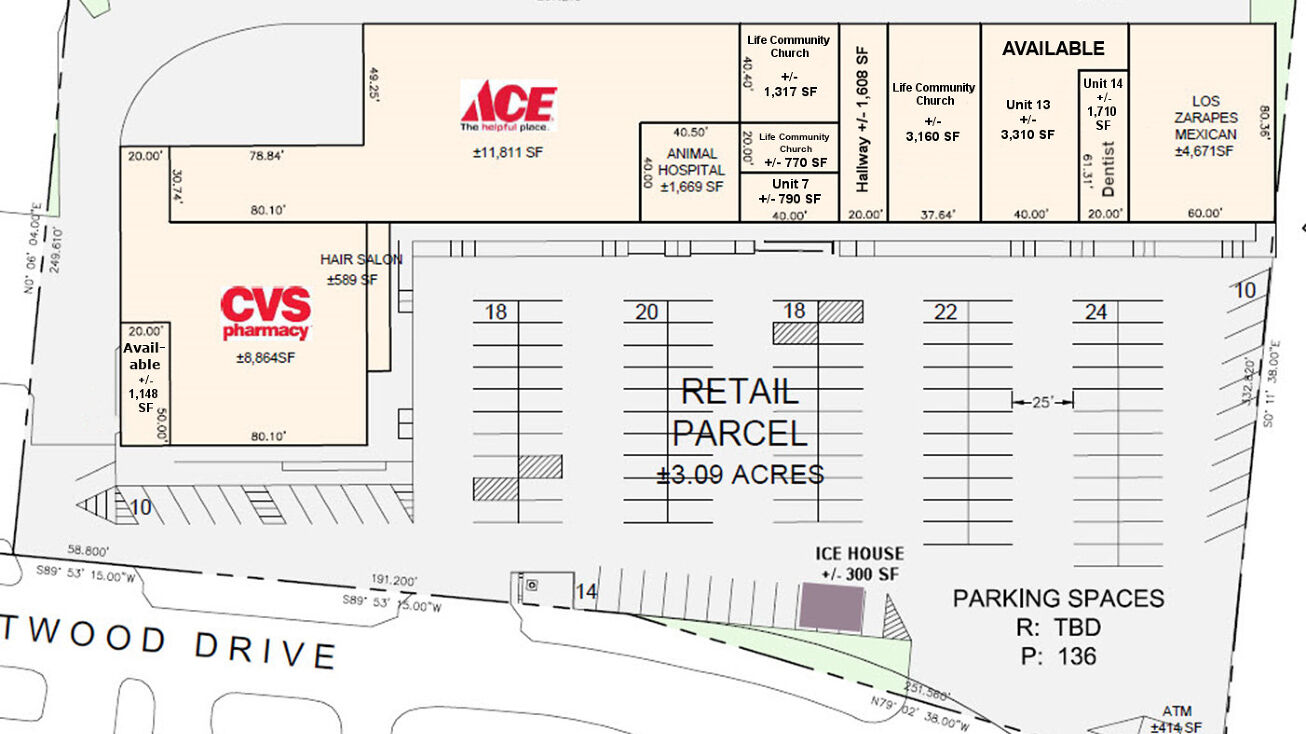 804 Eastwood Drive Mahomet Il 61853 Retail Space For